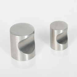 Puxador Movel 663/1 18mm Inox